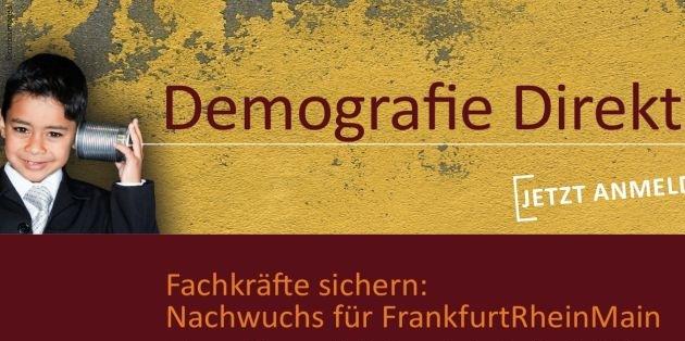 Fachkräftenachwuchs im Fokus / 3. Demografiekongress am 5. März in der IHK Frankfurt - Keynote von Kinder- und Jugendpsychiater Dr. Michael Winterhoff