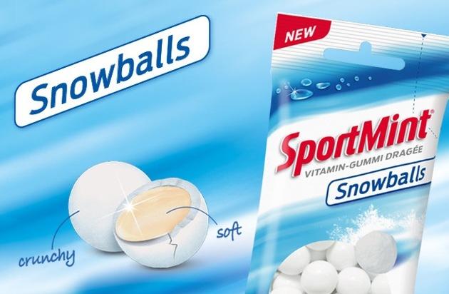 Ricola: SportMint lanciert mit Snowballs einzigartiges Produktekonzept