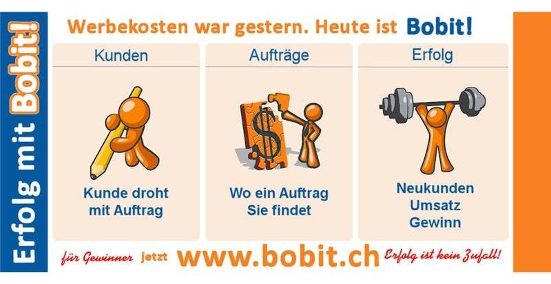 Bobit: Auftrags-Auktionen jetzt auch in der Schweiz