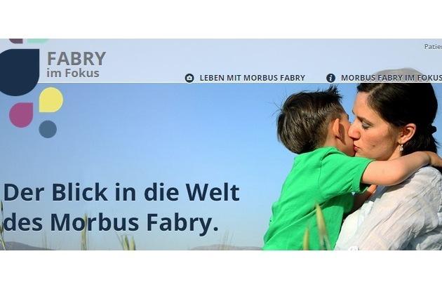 Shire Deutschland GmbH: Ein Blick in die Welt des Morbus Fabry: Neue Webseite www.fabry-im-fokus.de