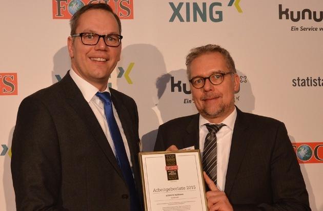 AGRAVIS Raiffeisen AG: Beste deutsche Arbeitgeber: Agravis Raiffeisen AG erneut auf einem Spitzenplatz