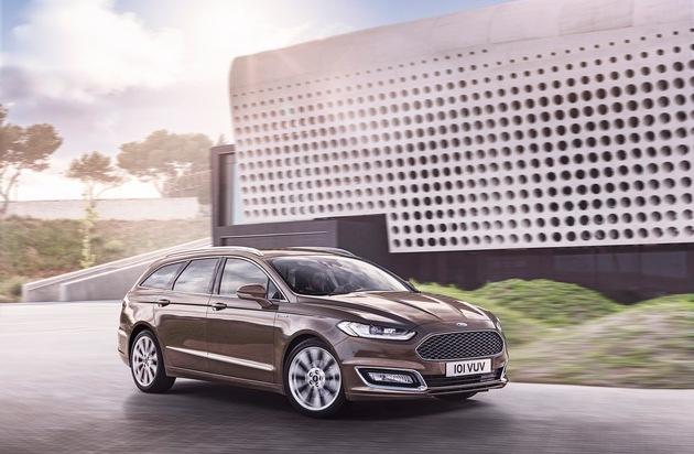 Ford-Werke GmbH: Serienversion des Ford Mondeo Vignale ab sofort bestellbar