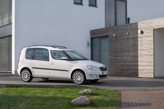 SKODA Octavia Combi und Roomster sind die 'Besten Familienautos 2014'