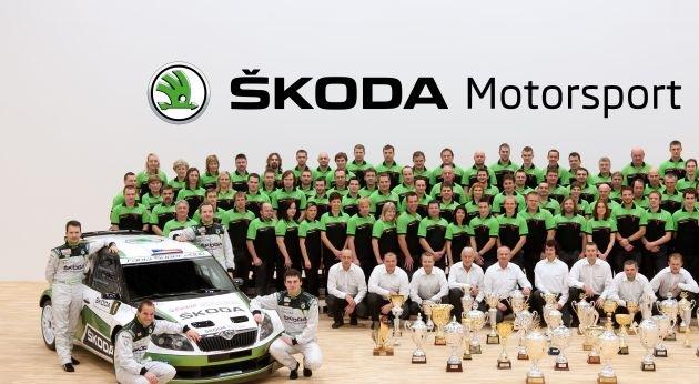 SKODA ist die erfolgreichste Marke der IRC-Geschichte