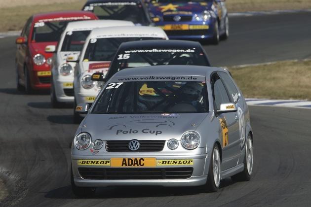 """Volkswagen mit Polo-Rennen bei der Formel-1-Premiere in China """"Volkswagen Polo Celebrity Race"""" in Shanghai"""