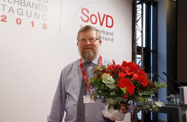 SoVD Sozialverband Deutschland: Adolf Bauer für weitere vier Jahre Präsident des Sozialverband Deutschland
