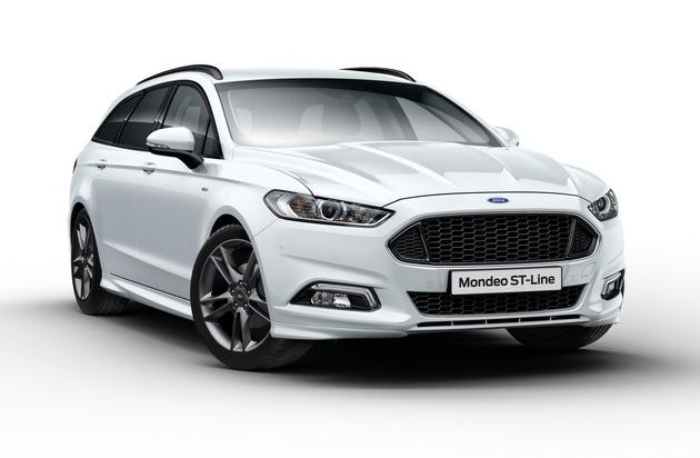 Ford-Werke GmbH: Sportlich-eleganter Ford Mondeo ST-Line feiert Premiere beim legendären Goodwood Festival of Speed