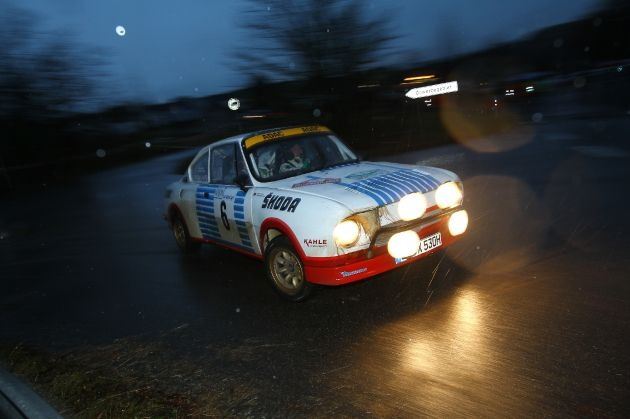 Klassensieg für Matthias Kahle/Peter Göbel im SKODA 130 RS bei der Köln-Ahrweiler