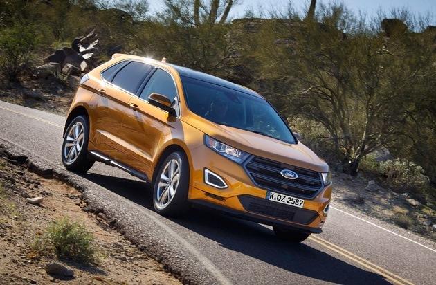 Ford-Werke GmbH: Ford auf der IAA Pkw: Neuer Edge überzeugt mit Effizienz und Qualität