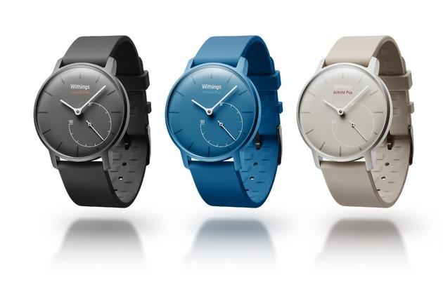 Withings: Poppig, stylish und smart: Die Activité Pop kann mehr als andere Uhren / Withings stellt Smartwatch vor, die sich sehen lassen kann