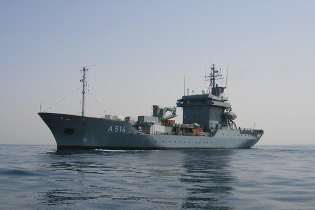 """Tender """"Werra"""" und Minenjagdboot """"Datteln"""" nehmen Kurs aufs Mittelmeer zum EU-Einsatz"""