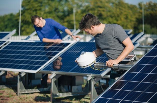 BILD: E.ON, Fraunhofer CSP und ZAE Bayern starten deutschlandweit umfangreichste Auswertung zur Qualität von Photovoltaik-Anlagen (FOTO)