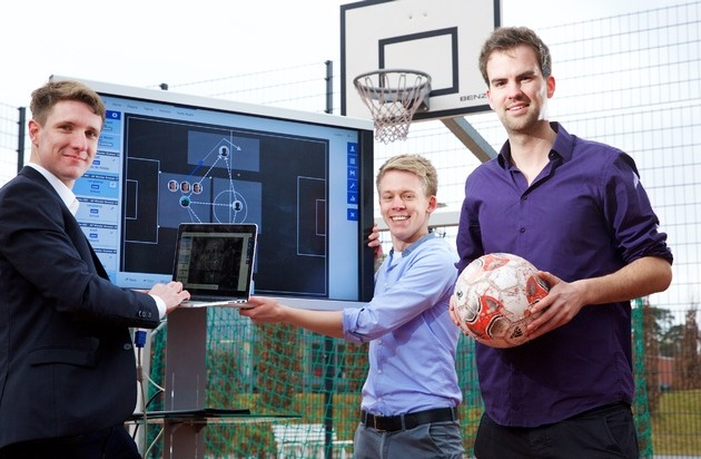 HPI Hasso-Plattner-Institut: CeBIT: Neue Fußball-Software revolutioniert Analyse von Spielmustern / Hasso-Plattner-Institut stellt sie in Halle 9 vor