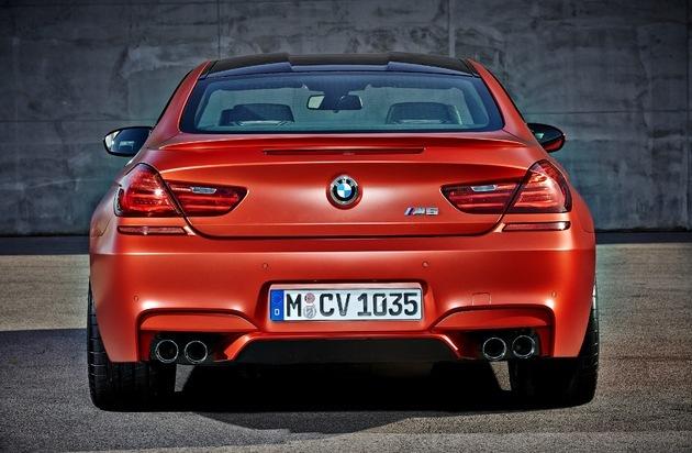 BMW Group: Das neue BMW M6 Coupé, das neue BMW M6 Cabrio und das neue BMW M6 Gran Coupé