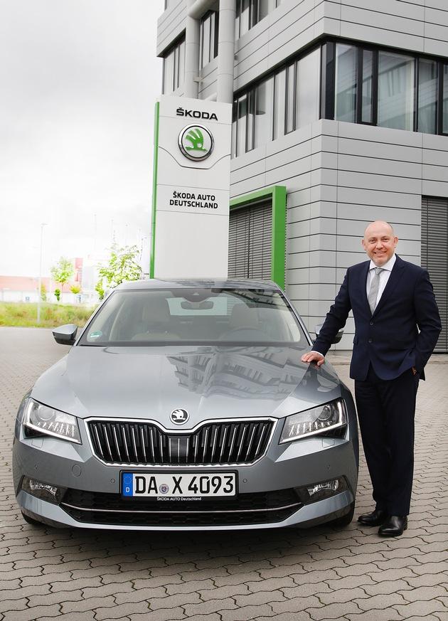 Jens Greibke wird neuer Leiter Service bei SKODA AUTO Deutschland