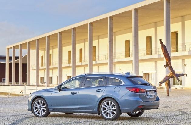 """Mazda6 massgeschneidert für Firmenflotten / """"Business""""- Ausstattungslinie für Geschäftskunden"""