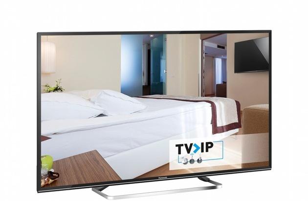 BILD: Hotel-TV/Hospitality-Lösungen von Panasonic / Innovative TV>IP-Signalverteilung ermöglicht smarte und energieeffziente Hotel-/TV-Lösungen, die den Kosten- und Installationsaufwand deutlich reduzieren (FOTO)