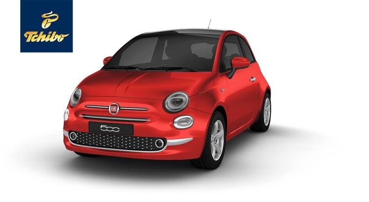 """Fiat 500 """"Pop Star"""" in der Tchibo Auktion: Jetzt italienische Legende zum Wunschpreis leasen"""