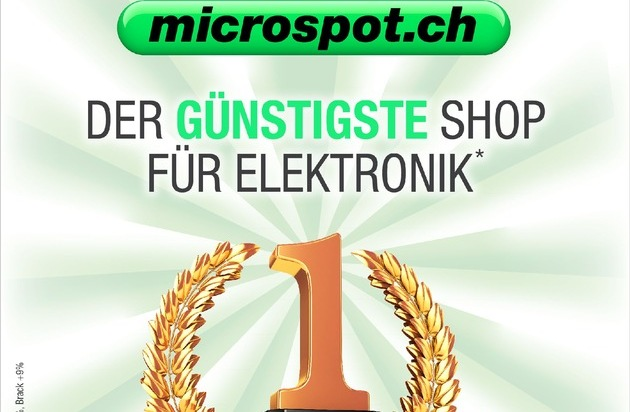microspot.ch: microspot.ch ist günstigster Onlineshop für Heimelektronik