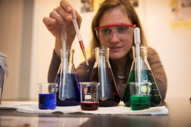 Lehrerkongress der chemischen Industrie in Baden-Württemberg /  Experimente zu Lithium-Ionen-Batterien und dem genetischen Fingerabdruck