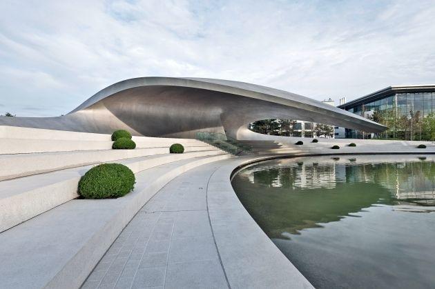 Porsche Pavillon eröffnet in der Autostadt