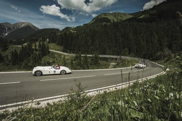 Arlberg Classic Car Rally Lech: Prolog und Tiroler Schleife - VIDEO/BILD