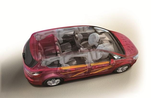 Ford-Werke GmbH: Euro NCAP-Crashtest: Fünf Sterne für den neuen Ford S-MAX und für den neuen Ford Galaxy