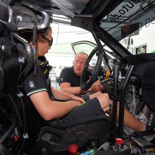 Car Chief Widi Wiedenhofer ebnete Fabian Kreim und SKODA den Weg zum Meistertitel
