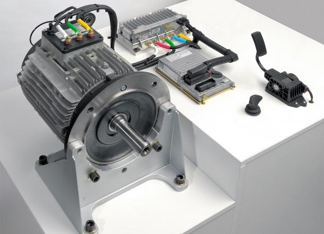 Die Droschke, das App-Mobil, die Kehrmaschine - ein Antrieb: eco-Kits von Linde Material Handling