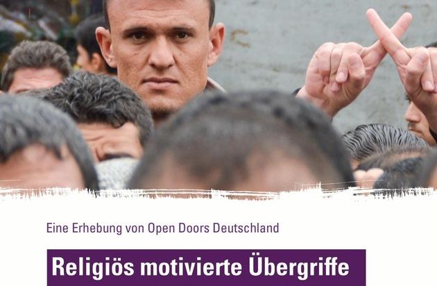 Open Doors Deutschland e.V.: Gewalt gegen christliche Flüchtlinge in Deutschland / Hilfs- und Menschenrechtsorganisationen fordern Politik zu dringendem Handeln auf