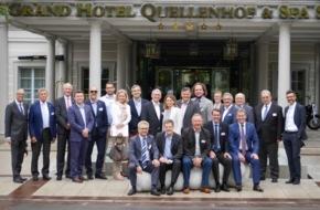 GastroSuisse: Zusammenkunft der deutschsprachigen Hotellerie- und Gastronomieverbände vom 14. bis 16. Juni 2015 in Bad Ragaz und Zürich