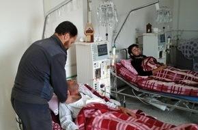 """action medeor: action medeor packt große Medikamentensendungen für Syrien / """"Der Weg für humanitäre Hilfe muss frei gemacht werden"""""""