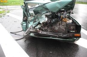 Polizeidirektion Pirmasens: POL-PDPS: Schwerer Verkehrsunfall