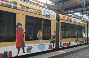 Orell Füssli Thalia AG: Orell Füssli-Trams in Bern und Basel (FOTO)