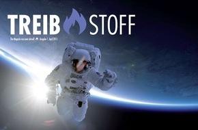 news aktuell GmbH: Inspiration und Antrieb: news aktuell startet Magazin TREIBSTOFF (FOTO)