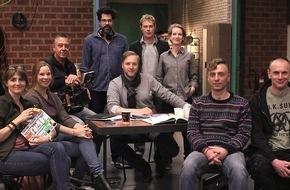"""SWR - Das Erste: Dreharbeiten zum SWR Fernsehfilm """"Casting"""" (AT) Der improvisierte Film von Nicolas Wackerbarth spielt hinter den Kulissen einer Filmproduktion"""