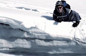 """ProSieben MAXX: Gefangen in der Gletscherspalte: Abenteurer Harro Füllgrabe wird bei """"Off Limits"""" zum Überlebenskünstler - ab 14. Februar 2016 auf ProSieben MAXX"""
