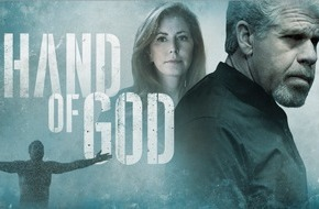 Amazon.de GmbH: Im Namen der Gerechtigkeit - Die Amazon Originals Serie Hand of God feiert am 4. September exklusive Premiere bei Amazon Prime