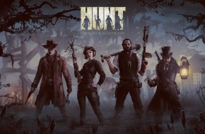 Crytek GmbH: Kämpft zusammen oder sterbt alleine - HUNT: Horrors of the Gilded Age von Crytek