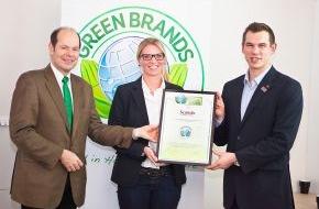 Green Brands: Das Scandic Hamburg Emporio erhält als erstes Stadt-Hotel Deutschlands die Auszeichnung als GREEN BRAND Germany