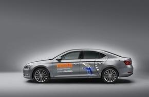 Skoda Auto Deutschland GmbH: SKODA macht LUCAS mobil