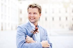 Migros-Genossenschafts-Bund Direktion Kultur und Soziales: Klassik ist im Trend: Migros-Kulturprozent-Classics 2011/2012  Starviolinist Julian Rachlin verzaubert die Schweizer Konzertsäle