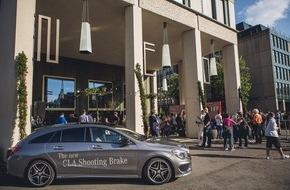 """Mercedes-Benz Schweiz AG: """"Gross.Stadt.Jagd."""" - Zürich als virtuelles Spielbrett"""