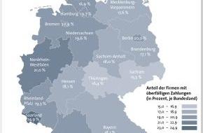 BÜRGEL Wirtschaftsinformationen GmbH & Co. KG: Zahlungsmoral deutscher Unternehmen / 18,8 Prozent der Unternehmen zahlen im März Ihre Rechnungen verspätet