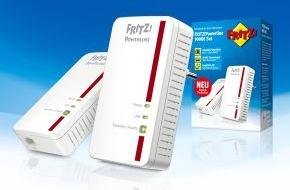AVM GmbH: Neuer FRITZ!Powerline 1000E ist schneller als alle anderen Powerline-Klassen / FRITZ!Powerline 1000E von AVM ab sofort erhältlich