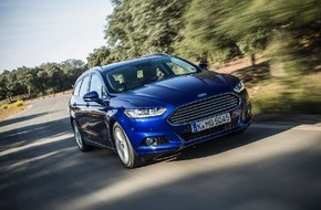 Ford-Werke GmbH: Ford Mondeo: drei neue Motoren und Allradantrieb