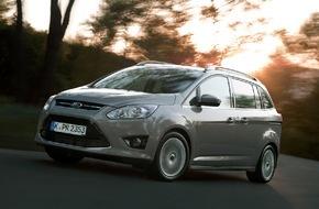 """Ford-Werke GmbH: Ford C-MAX Sieger beim """"DEKRA Gebrauchtwagenreport"""" in der Kategorie """"Vans"""" (FOTO)"""