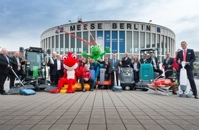 Messe Berlin GmbH: CMS 2015: Eröffnungsbericht - Berlin vier Tage lang Europas Reinigungs-Hauptstadt
