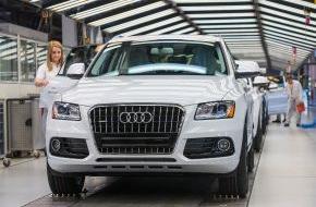 Audi AG: Audi-Jahresbilanz: Nach Rekordauslieferungen 2013 weiteres Wachstum für 2014 (FOTO)