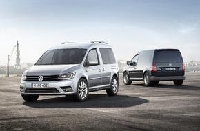VW Volkswagen Nutzfahrzeuge AG: Der neue Caddy - immer die beste Wahl - Weltpremiere der vierten Generation des Bestsellers